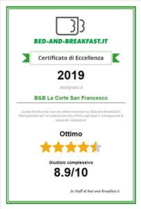 Certificato_di_Eccellenza_La_corte_San_Francesco